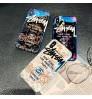 欧米風 ステューシーブランドiPhoneXs Max/Xr スマホケース カップル愛用 おしゃれ iPhone X/8/7 携帯カバー Stussy 迷彩 アイフォン6s/6 plusケース シリコン製 耐衝撃