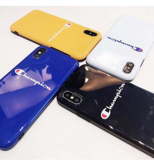 チャンピオンブランド iPhone Xs/Xs Max/Xr ケース champion 軟らかい iPhoneX 携帯カバーおしゃれ 男女向け アイフォン7/6s/6 Plusケース 激安