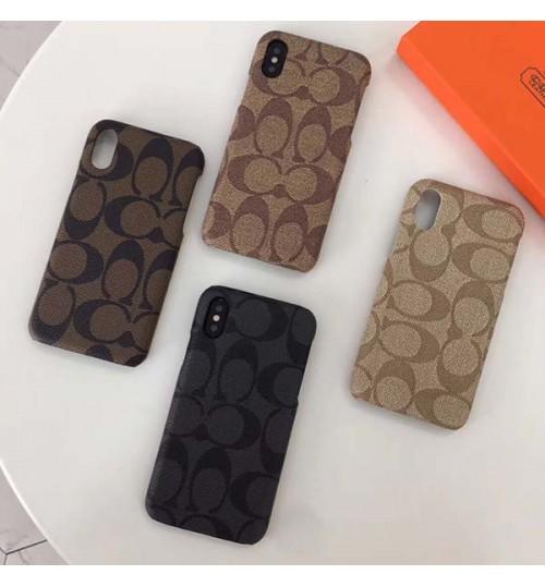 ブランド コーチ iPhoneXsケース ハードケース  COACH アイフォンXs Maxカバー 頑丈 iPhoneXrケース 新品 メンズレディース アイフォンX/8/8 Plusスマホケース 激安