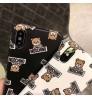 ブランドモスキーノiPhoneXs Max/Xrケース 可愛い MOSCHINO アイフォンX/8/8 Plusカバー おしゃれ モスキーノiPhone 7/6s/6 Plusモバイルケース moschino 芸能人愛用