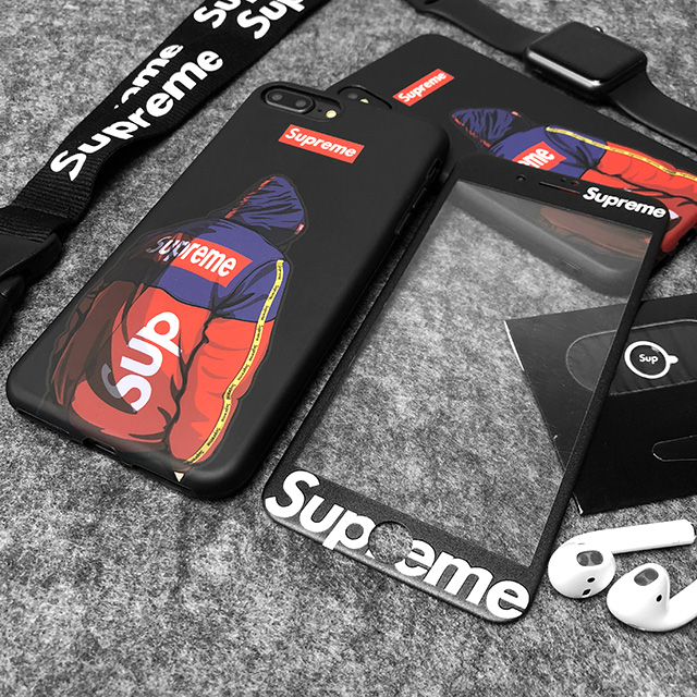 Supreme iPhone Xr/X/8 plusケース