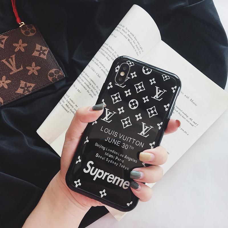 シュプリームiPhoneXrケース