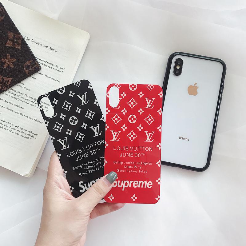 シュプリームiPhoneXs maxケース