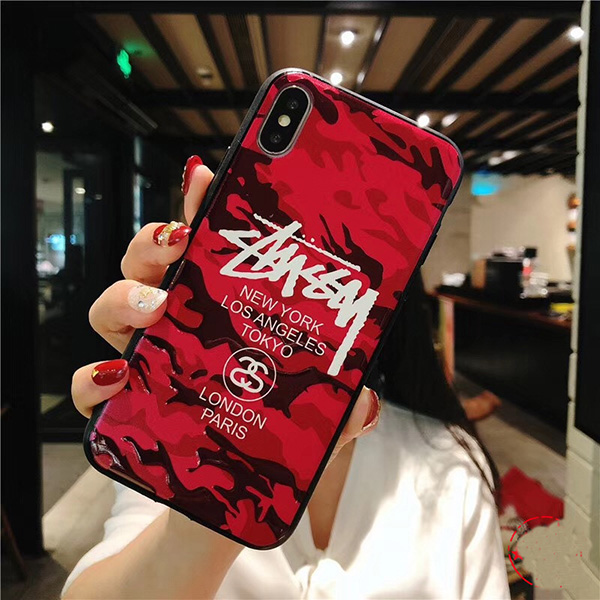 Stussy iPhone xs ケース