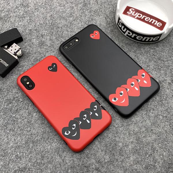 COMME Des GARÇONS Play アイフォン xs ケース