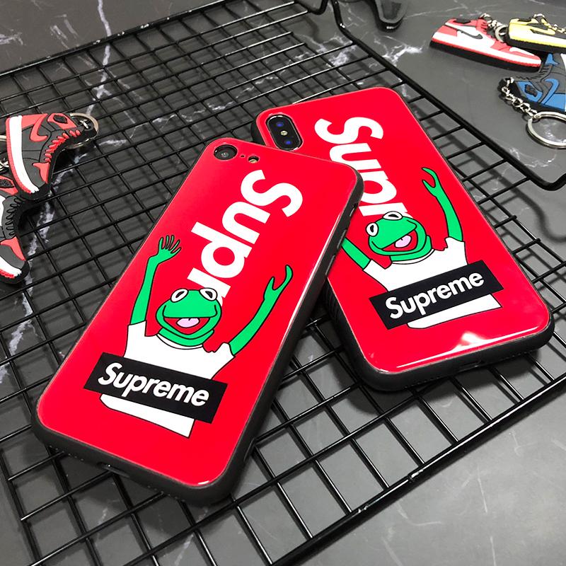 シュプリーム カーミットIPhoneXRケース