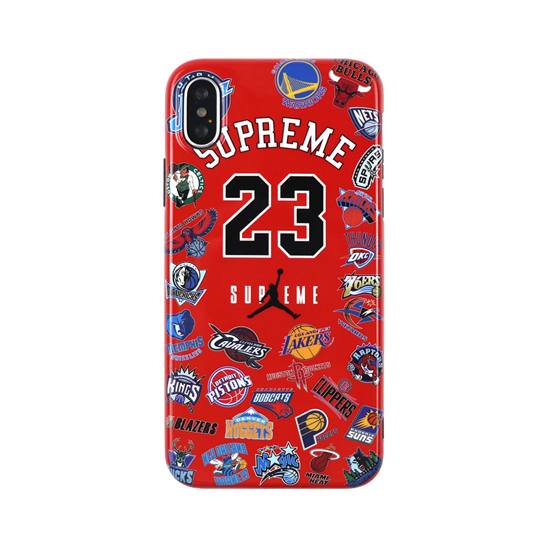 supreme NBA JORDAN iphone xrケース