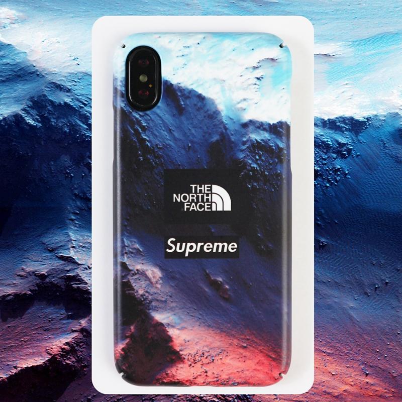 ノースフェイス iphone xrケース