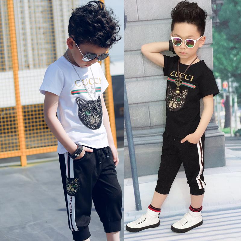 Gucci 子供Tシャツ 韓国風 夏親子服