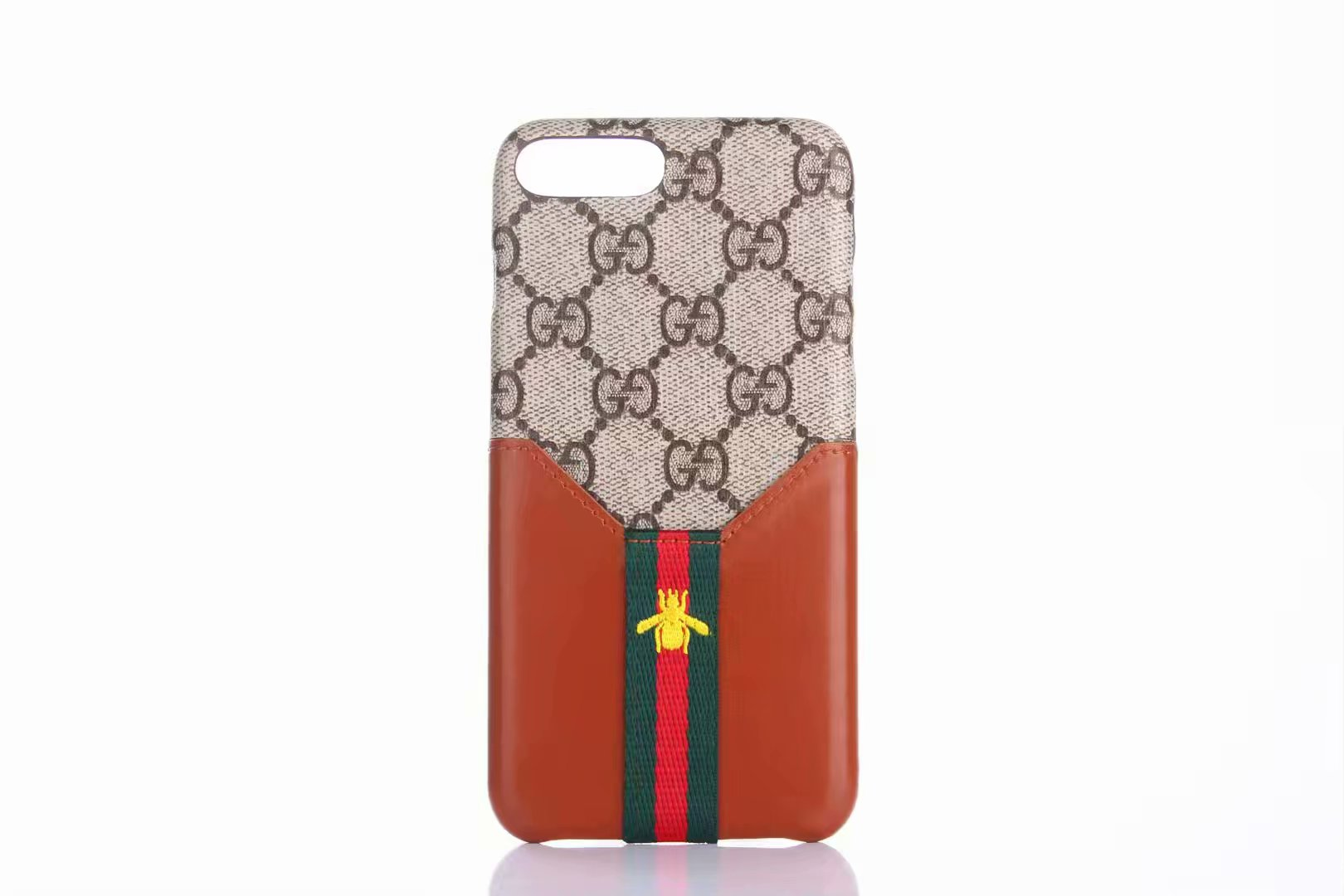 iPhone Xs/Xr/X/8 Plusカバー gucci