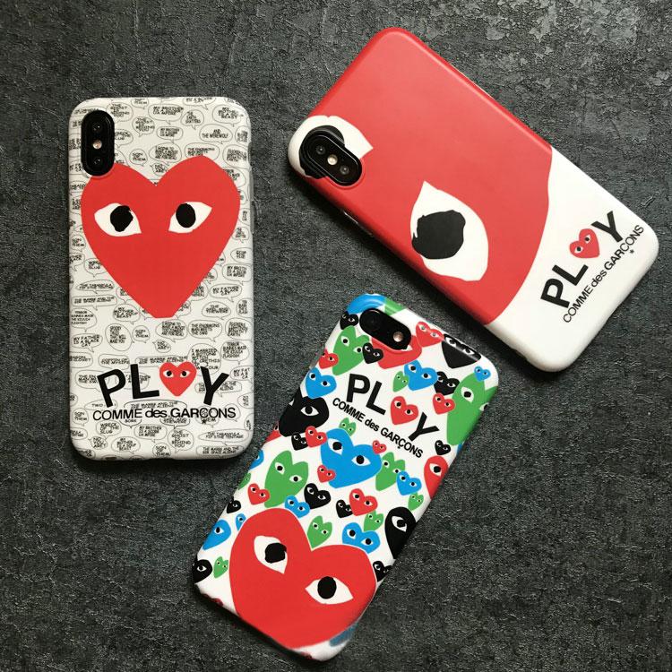 CDG PlayシリーズiPhoneケース