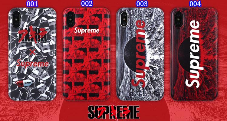 シュプリームxアキラのコラボ iPhone X/8/9 Plusカバー