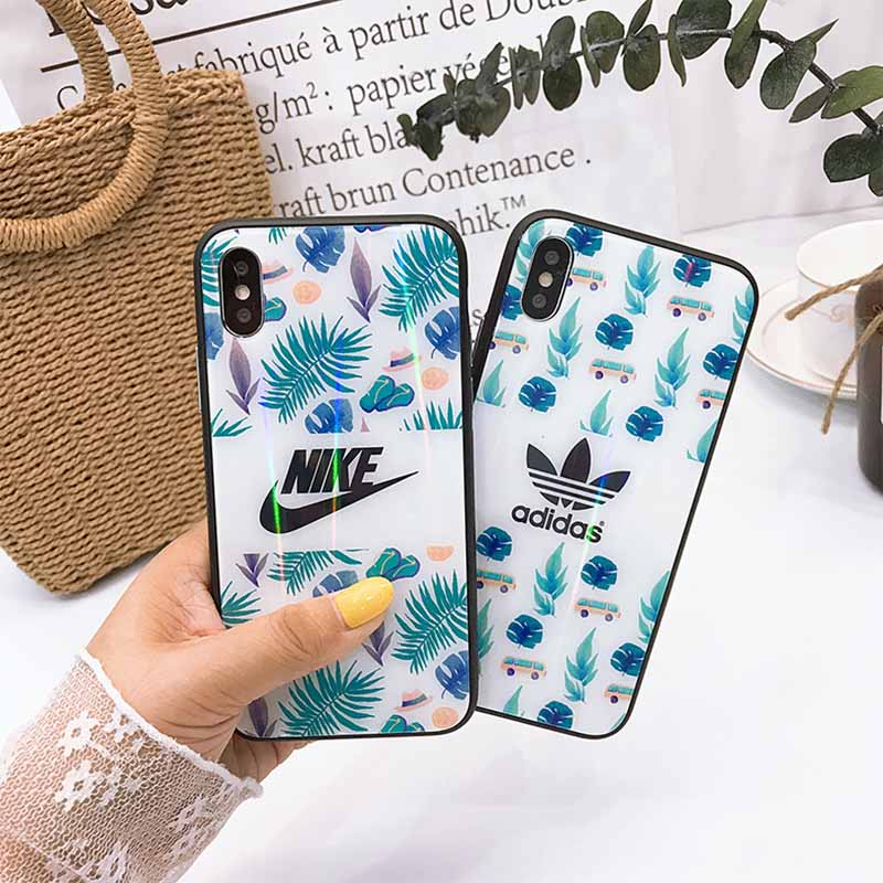 iPhoneXs/Xs Maxケース adidas