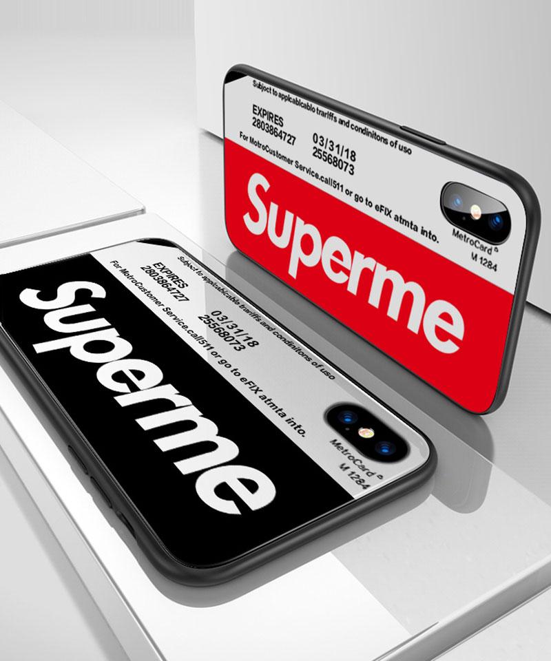 iphoneX/8/8 Plusケース supreme