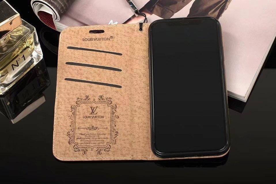 ブランドルイヴィトン iphone xr/x/8 plus携帯カバー 手帳型