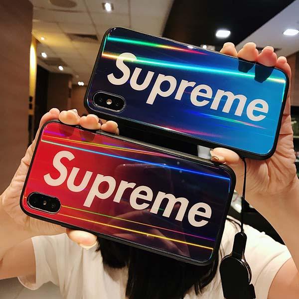 iPhoneXrケース supreme