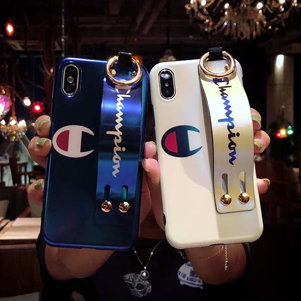 champion iphone Xs/Xr/8 plusカバー